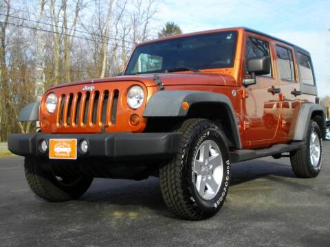 2011 Jeep Wrangler Unlimited for sale at Auto Brite Auto Sales in Perry OH