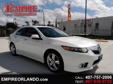 2012 Acura TSX for sale at Empire Automotive Group Inc. in Orlando FL