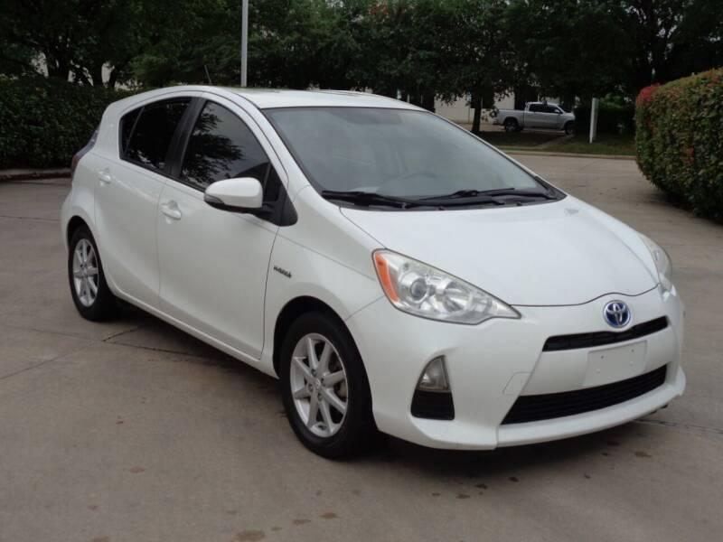 2012 Toyota Prius c for sale at Auto Starlight in Dallas TX