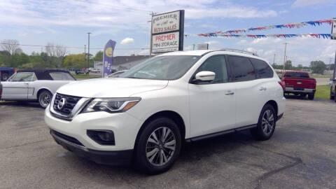 2017 Nissan Pathfinder for sale at Premier Auto Sales Inc. in Big Rapids MI