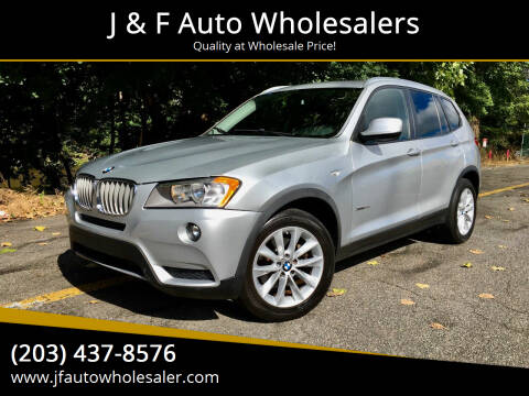 2013 BMW X3 for sale at J & F Auto Wholesalers in Waterbury CT