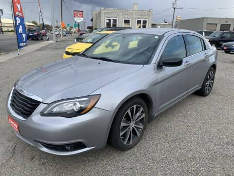 2014 Chrysler 200 for sale at SCOTTIES AUTO SALES in Billings MT