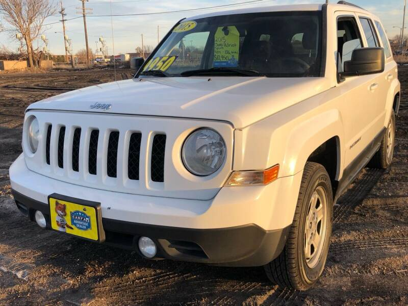 2015 Jeep Patriot for sale at El Tucanazo Auto Sales in Grand Island NE