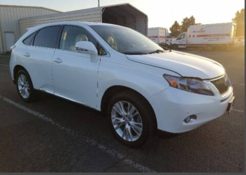 2011 Lexus RX 450h for sale at Auto Land in Newark CA