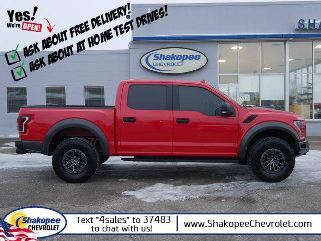 2019 Ford F-150 for sale at SHAKOPEE CHEVROLET in Shakopee MN