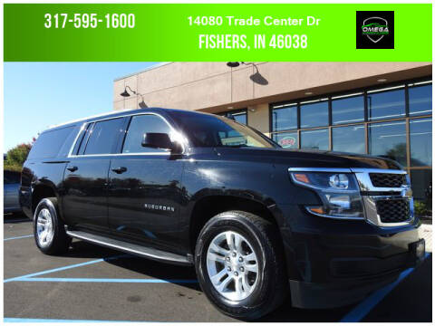 2018 Chevrolet Suburban for sale at Omega Autosports of Fishers in Fishers IN