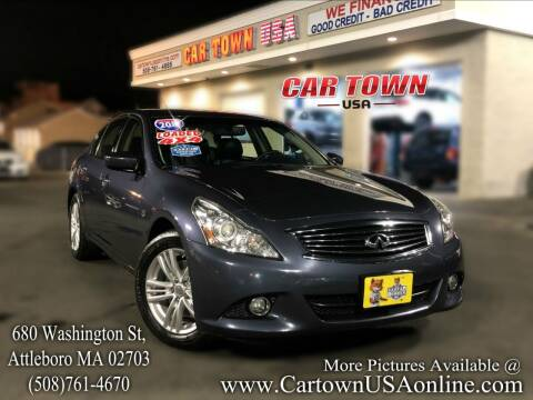 2010 Infiniti G37 Sedan for sale at Car Town USA in Attleboro MA