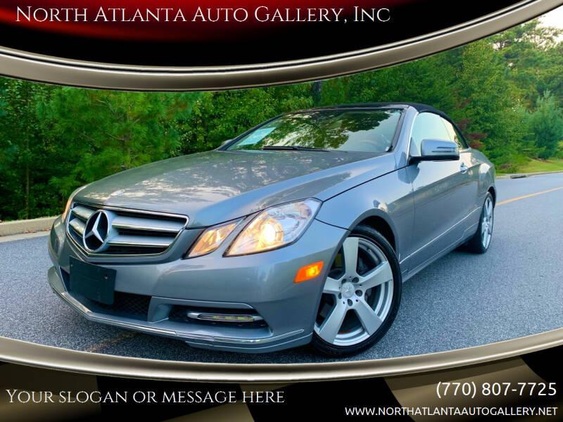 2013 Mercedes-Benz E-Class for sale at North Atlanta Auto Gallery, Inc in Alpharetta GA