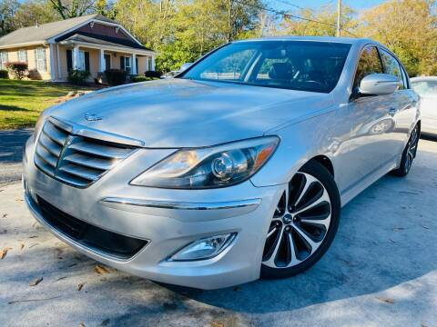 2012 Hyundai Genesis for sale at Cobb Luxury Cars in Marietta GA