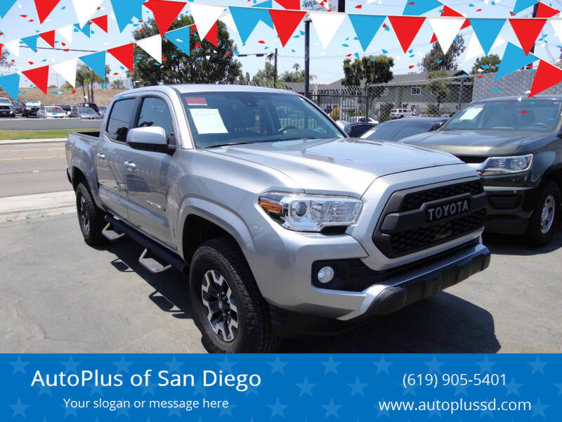2020 Toyota Tacoma for sale at AutoPlus of San Diego in Spring Valley CA