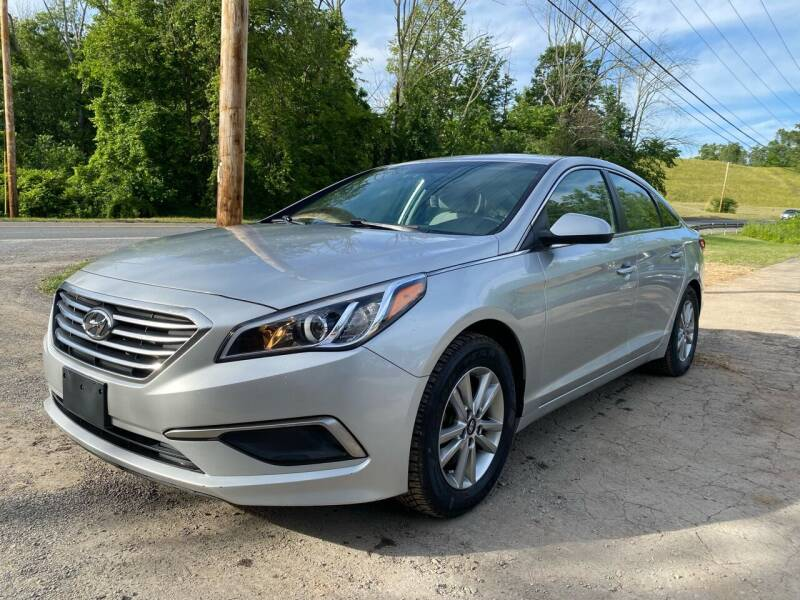 2017 Hyundai Sonata for sale at D & M Auto Sales & Repairs INC in Kerhonkson NY