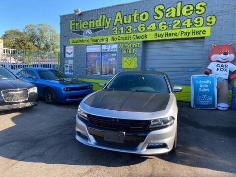 2015 Dodge Charger for sale at Friendly Auto Sales in Detroit MI