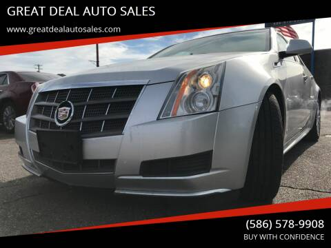 2011 Cadillac CTS for sale at GREAT DEAL AUTO SALES in Center Line MI