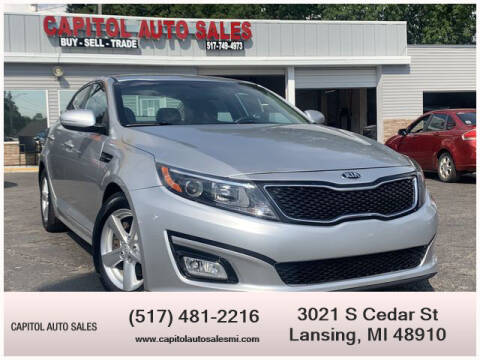 2014 Kia Optima for sale at Capitol Auto Sales in Lansing MI