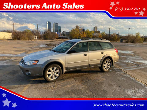 2007 Subaru Outback for sale at Shooters Auto Sales in Fort Worth TX