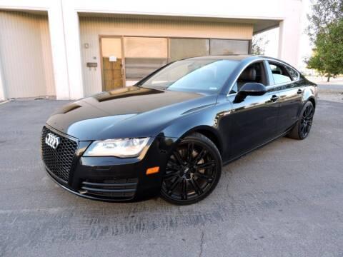 2012 Audi A7 for sale at PK MOTORS GROUP in Las Vegas NV