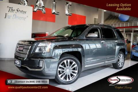 2017 GMC Terrain for sale at Quality Auto Center in Springfield NJ
