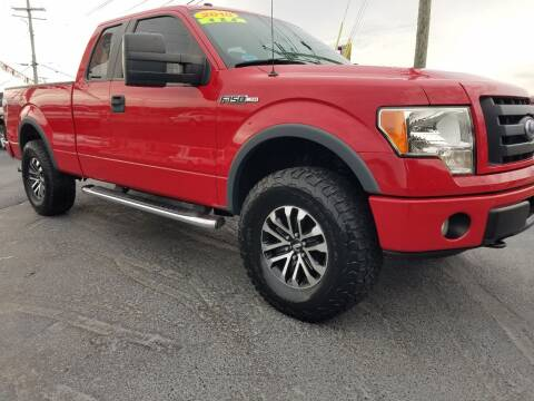 2010 Ford F-150 for sale at Moores Auto Sales in Greeneville TN