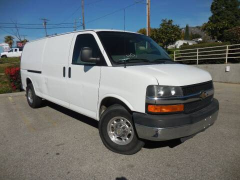 2011 Chevrolet Express Cargo for sale at ARAX AUTO SALES in Tujunga CA