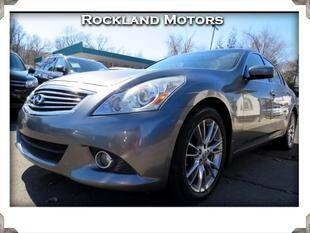 2012 Infiniti G37 Sedan for sale at Rockland Automall - Rockland Motors in West Nyack NY