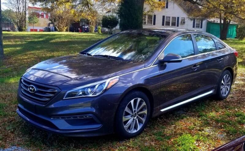 2015 Hyundai Sonata for sale at Progress Auto Sales in Durham NC