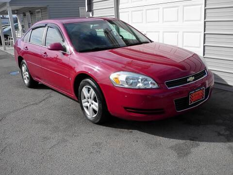2008 Chevrolet Impala for sale at Marty's Auto Sales in Lenoir City TN