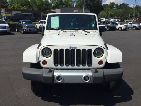 2010 Jeep Wrangler Unlimited for sale at Beckham's Used Cars in Milledgeville GA
