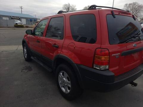 2002 Ford Escape for sale at Cars 4 Idaho in Twin Falls ID