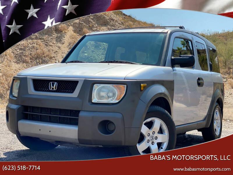 2003 Honda Element for sale at Baba's Motorsports, LLC in Phoenix AZ