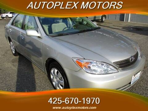 2003 Toyota Camry for sale at Autoplex Motors in Lynnwood WA