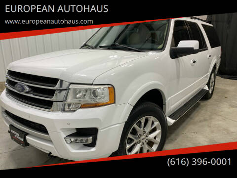 2017 Ford Expedition EL for sale at EUROPEAN AUTOHAUS in Holland MI