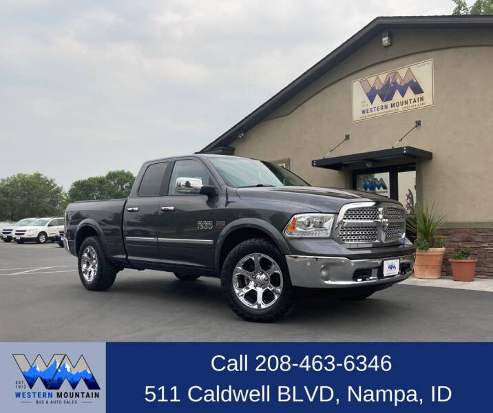 2017 RAM Ram Pickup 1500 for sale at Western Mountain Bus & Auto Sales in Nampa ID