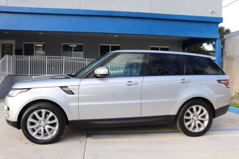 2015 Land Rover Range Rover Sport for sale at PERFORMANCE AUTO WHOLESALERS in Miami FL