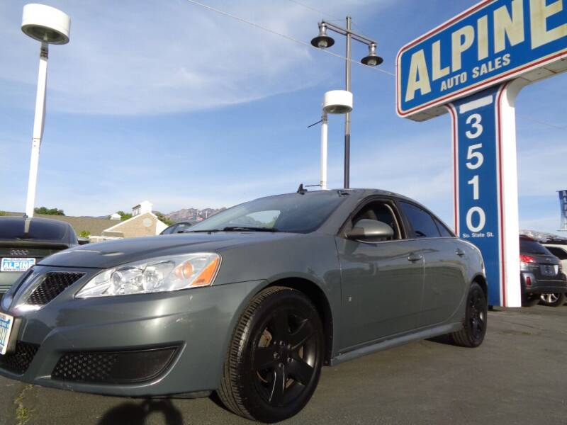 2009 Pontiac G6 for sale at Alpine Auto Sales in Salt Lake City UT