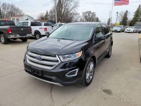 2015 Ford Edge for sale at Clare Auto Sales, Inc. in Clare MI