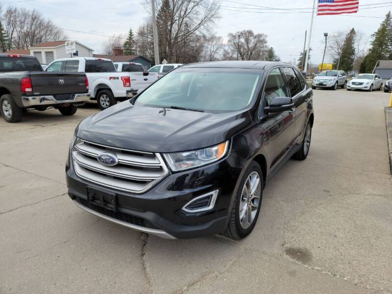 2015 Ford Edge for sale at Clare Auto Sales, Inc. in Clare MI