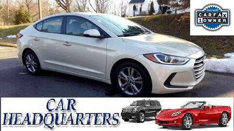 2017 Hyundai Elantra for sale at CAR  HEADQUARTERS in New Windsor NY
