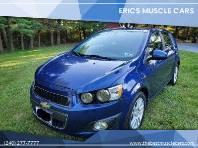 2014 Chevrolet Sonic for sale at Erics Muscle Cars in Clarksburg MD