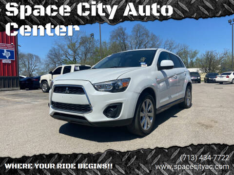 2015 Mitsubishi Outlander Sport for sale at Space City Auto Center in Houston TX