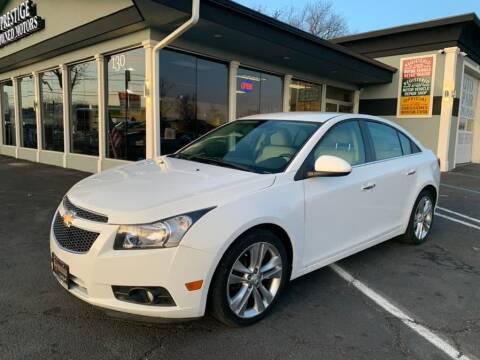 2012 Chevrolet Cruze for sale at Prestige Pre - Owned Motors in New Windsor NY