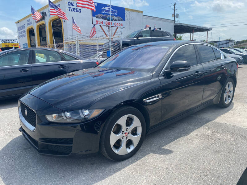 2017 Jaguar XE for sale at INTERNATIONAL AUTO BROKERS INC in Hollywood FL