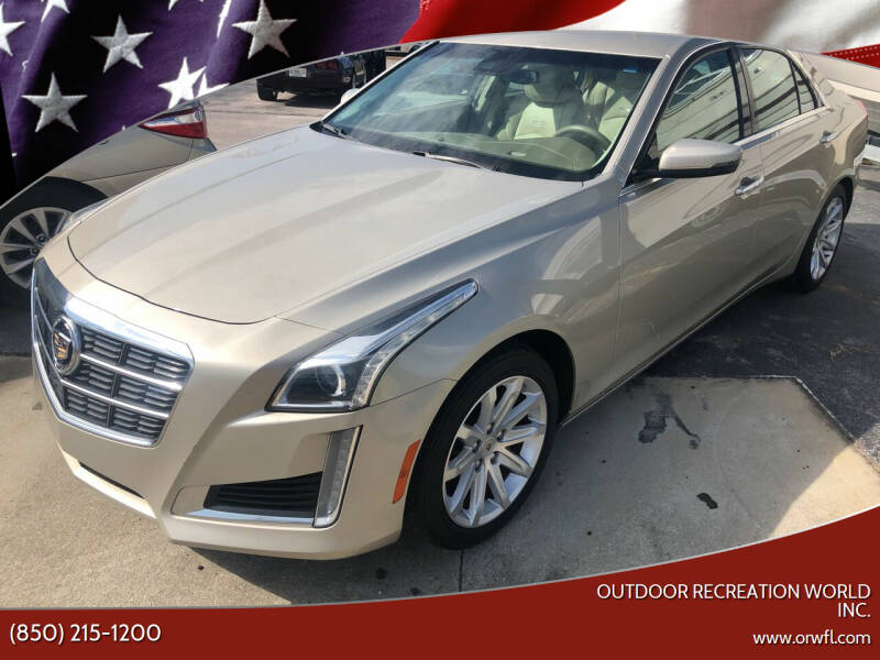 2014 Cadillac CTS for sale at Outdoor Recreation World Inc. in Panama City FL