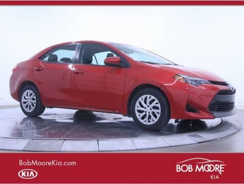 2017 Toyota Corolla for sale at Bob Moore Kia in Oklahoma City OK
