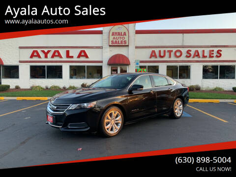 2017 Chevrolet Impala for sale at Ayala Auto Sales in Aurora IL