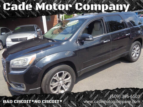2013 GMC Acadia for sale at Cade Motor Company in Lawrence Township NJ