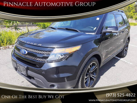 2014 Ford Explorer for sale at Pinnacle Automotive Group in Roselle NJ