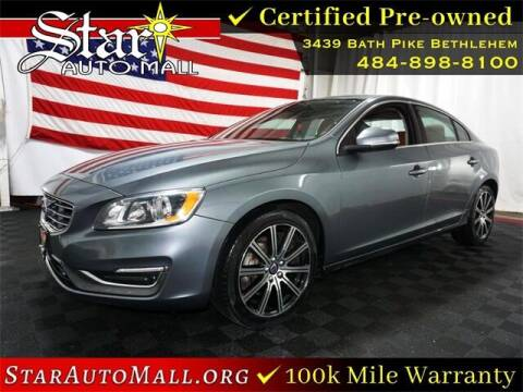 2017 Volvo S60 for sale at STAR AUTO MALL 512 in Bethlehem PA