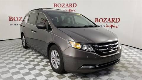 2016 Honda Odyssey for sale at BOZARD FORD in Saint Augustine FL