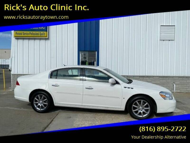 2007 Buick Lucerne for sale at Rick's Auto Clinic Inc. in Raytown MO