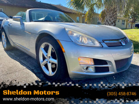 2008 Saturn SKY for sale at Sheldon Motors in Tampa FL